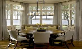 bay window breakfast nook home design ideas