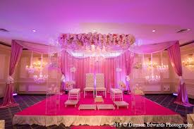 Indian Wedding Mandap Rental Indian Wedding Mandap Decor Pink Floral In Rockleigh New Jersey