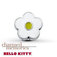 kay jewelers outlet kayoutlet charmed memories hello kitty flower charm sterling silver
