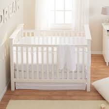 White Nursery Bedding Sets by Amazon Com Breathablebaby Safety Crib Bedding Set Blue Mist 3