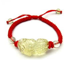 bracelet lucky images Handmade citrine pixiu bracelet good luck animal bracelet handmade jpg