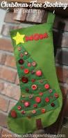 christmas stocking trees christmas lights decoration