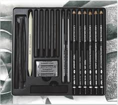 black box charcoal drawing set a passion for pencils
