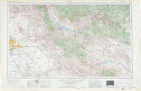 Arizona Maps by Mesa Topographic Maps Az Usgs Topo Quad 33110a1 At 1 250 000 Scale