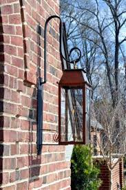 French Quarter Gas Lanterns by Coach House With Tudor Scroll Copper Lights Bevolo Gas