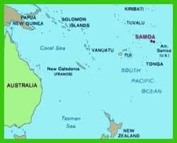 samoa in world map my trip to samoa