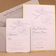 Layered Wedding Invitations 1622 Best Orchid Wedding Invitations Images On Pinterest Orchid