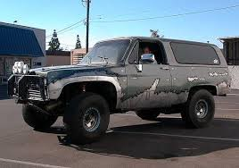 chevy baja truck street legal big bad chevy blazer equipped for the desert off road com