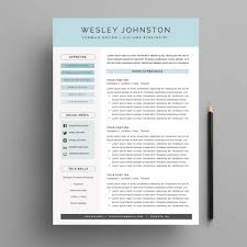 cover page for resume template resume cv template package for ms word the wesley welcome
