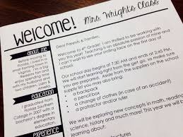 best 25 classroom welcome letter ideas on pinterest