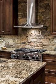 Kitchen Backsplash Examples Best 25 Rock Backsplash Ideas On Pinterest Stone Backsplash