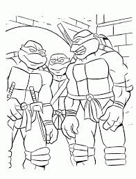 ninja turtle coloring pages 392405