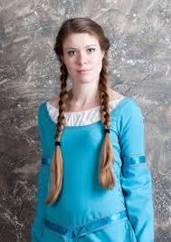 viking anglo saxon hairstyles women s medieval hairstyles lovetoknow