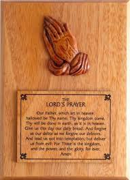 the lord s prayer christian wooden wall plaque gift co uk