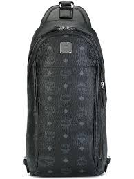 designer taschen reduziert mcm shop mcm rucksack mit monogrammmuster herren taschen mcm
