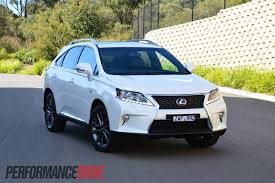 2012 lexus rx 450h f sport review performancedrive