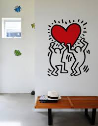 untitled heart wall decal blik untitled heart
