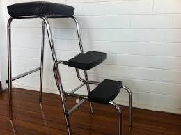 vintage cosco step stool chair cabinet hardware room vintage