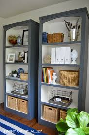 right up my alley home depot challenge plywood bookshelves reveal