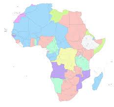 Sahara Desert On World Map by Big Blue 1840 1940 Spanish Sahara