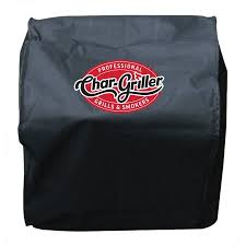 char griller table top smoker char griller table top grill and smoker cover black 2455 walmart com