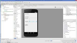 android log android studio android login screen exle