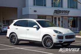 porsche cayenne black wheels 2017 porsche cayenne with 22 giovanna kilis in gloss black wheels