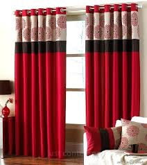 maroon curtains for bedroom red curtain bedroom trafficsafety club