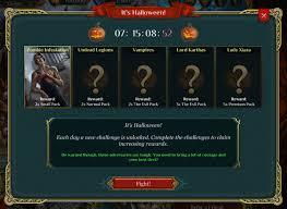 Origination Of Halloween by Spellweaver Online Digital Card Game