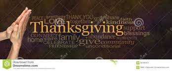 thanksgiving word cloud website banner stock image image 60489401