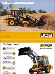 2dxl super loader brochure pdf loader equipment transmission
