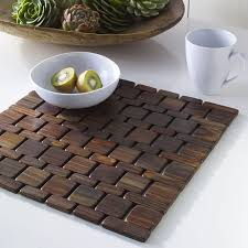 dining room placemats creative idea modern dining table set with dark brown wood tile