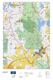 Colorado Population Map Colorado Gmu 15 Map Mytopo