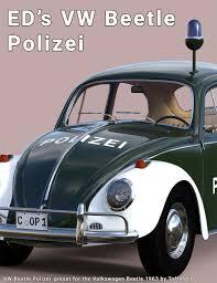 volkswagen beetle studio max 3d freebie ed u0027s vw beetle polizei preset