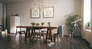 decorating wooden dining room ideas gives a trendy and vintage