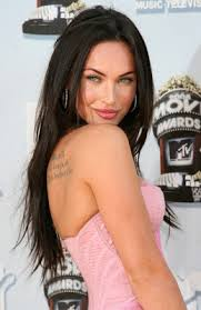 perfection tattoos megan fox tattoos