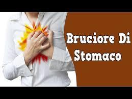 bruciore di stomaco reflusso gastroesofageo dieta cibi contro
