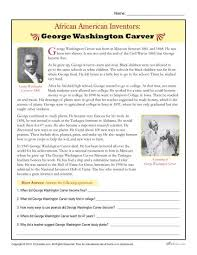 african american inventors george washington carver african