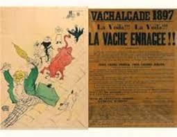 bureau poste toulouse la vache enragée poster by henri de toulouse lautrec on artnet
