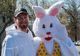 big easter bunny bunny hop the big rabbit comes to montclair montclair local