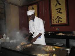 japanese restaurant cook at table mikado japanese restaurant tepanyaky table picture of grand bahia