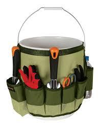 amazon com fiskars garden bucket caddy bucket not included