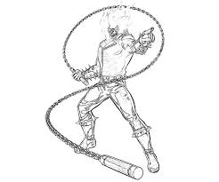 ghost rider coloring pages download print free