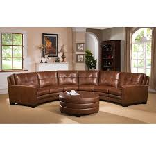Curved Couch Sofa Curved Leather Sectional Sofa Sofas