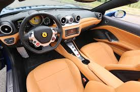 Ferrari California White With Red Interior - rough rides in new cars bring out my bad side