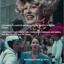 Hunger Games Funny Memes - hunger games mean girl meme