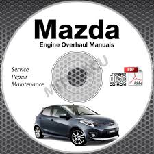 mazda engine overhaul service manuals cd rom workshop rebuild