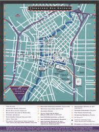Sea World San Antonio Map by Downtown San Antonio Map San Antonio Texas U2022 Mappery