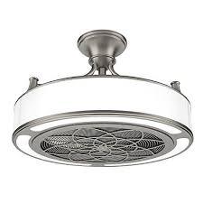 brette 23 in led indoor outdoor brushed nickel ceiling fan anderson 22 in indoor outdoor brushed nickel ceiling fan https