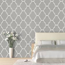 classic trellis wallpaper view in your room houzz